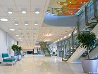 Oprawy oświetleniowe PXF Lighting w obiektach sportowych w Soczi