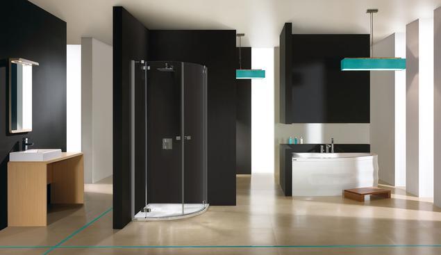 Nowoczesna aranżacja łazienki. Wanny i kabiny prysznicowe Sanplast