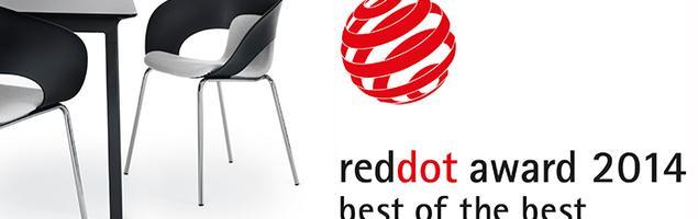 Red Dot Award dla dwóch produktów z Grupy Kinnarps