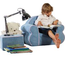 Meble dla dzieci. Lekkie i kolorowe foteliki i sofy wykonane z gąbki