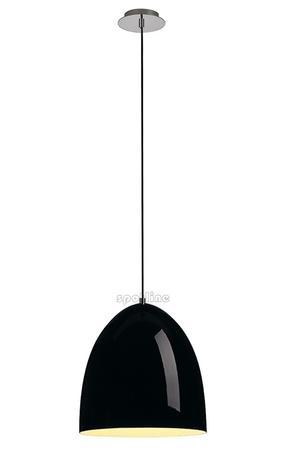 Czarna lampa wisząca Para Cone 30 SPOTLINE, wysoki połysk