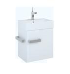 Łazienkowa szafka podumywalkowa Qubic 50 1D White ELITA