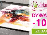 Promocja na dywany -10% w sklepie Dekoria.pl