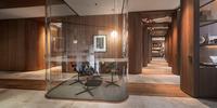 Biuro coworkingowe w stylu Art Deco