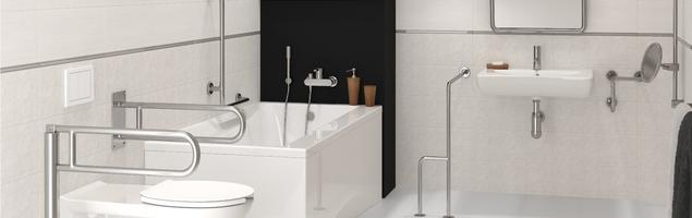 Projekt łazienki: jak urządzić łazienkę dla seniora?