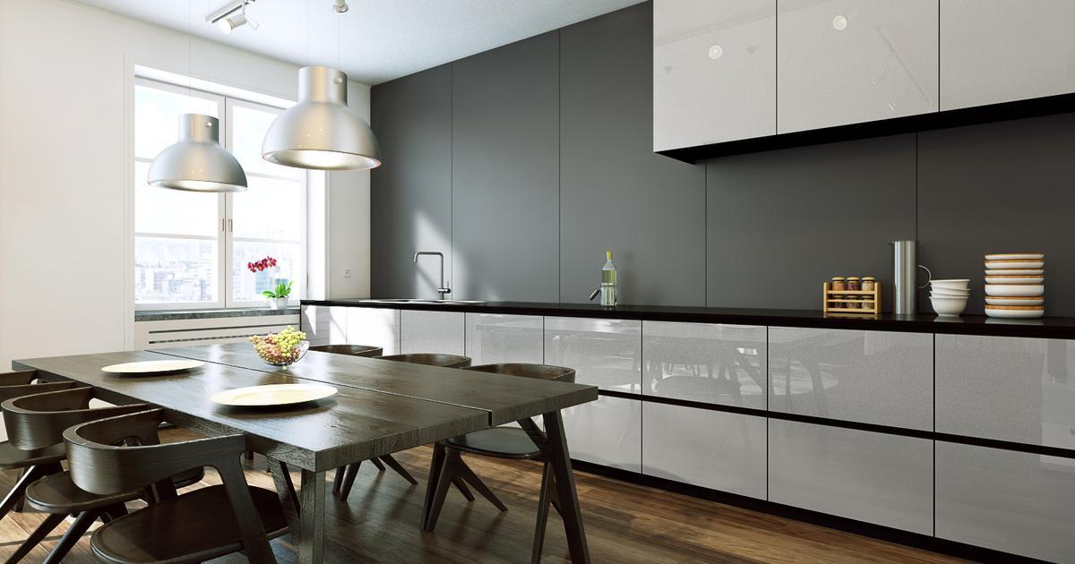 Fantastyczny Szyba do kuchni, czyli szkło lakierowane na ścianie YV72